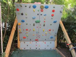 image of best backyard climbing wall