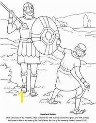 Bible Coloring Pages David And Goliath 1360 Best David And Goliath