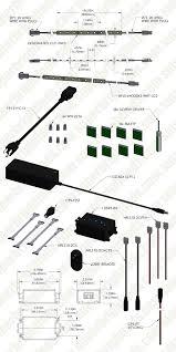 Cabinet Incubator Kit Under Cabinet Led Lighting Kit Complete Led Light Strip Kit For