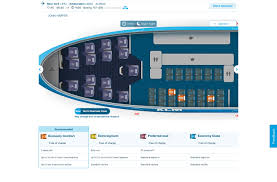 Klm Plane Seating Chart Klm 747 Economy Comfort Seating Chart Point Me To The Plane