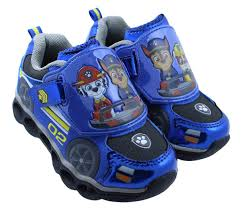 Paw Patrol Light Up Shoes Walmart Paw Patrol Athletic Shoes With Led Lights Walmart Canada