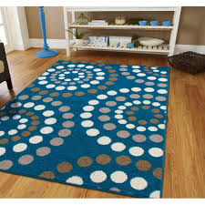 contemporary circle rugs bold color dining area rugs 8x11 bright teen groupon