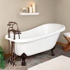 ... Astounding Bathroom Decoration Design With Painted Clawfoot Tub :  Stunning Bathroom Decoration Ideas Using Black Painted ...