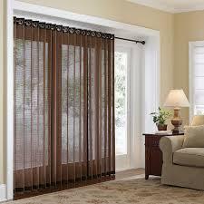 amazing window treatments for sliding glass doors