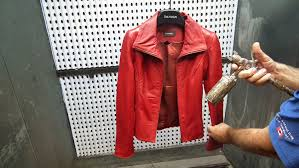 leather restoration toronto red leather jacket repair