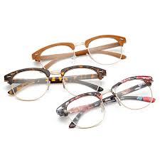 Round Men <b>Glasses Retro Fashion</b> Black <b>Women Glasses</b> Frame ...