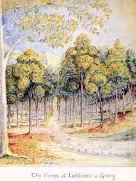 user ardamir essays mellyrn tolkien gateway the forest of lothlorien in spring by j r r tolkien