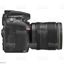 Dslrkamera Seitenansicht Stockfoto und mehr Bilder von Ausrüstung und  Geräte - iStock