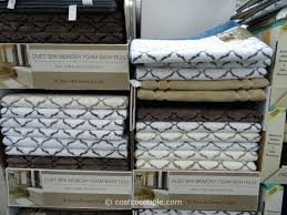 memory foam bathroom rugs bath sets town and country living duet spa rug sleep innovation memory foam bath mat