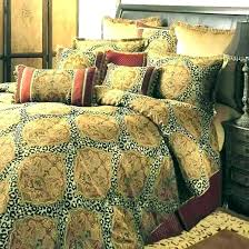 leopard print duvet cover new satin silk bedding set leopard print duvet cover bed sheet plaid