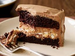 Light Peanut Butter Cake Crunchy Milk Chocolate Peanut Butter Layer Cake