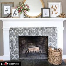 nice barbara gilbert interiors on instagram the arabesque tile surround on