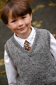 256 Basic Vest for Children pattern by Diane Soucy   Knitting ...