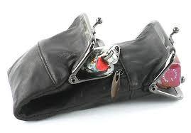 details about black leather cigarette case lighter pouch smoke 100 s regular holder men lady