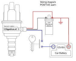 123ignition wiring diagram positive earth