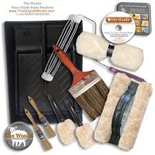 deluxe faux finish painting techniques starter kit by the woolie
