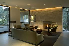 Modern Outside Wall Lights for Contemporary Modern House with Three