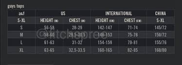 4 Product Image Hollister Size Chart Europe Www