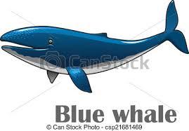 cartoon blue whale csp21681469