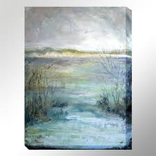 river view canvas wall art multi cool