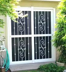 security screen for sliding glass door doors astonishing security sliding screen