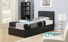 Ottoman For Bedroom Bedstore Uk Birlea Berlin Ottoman Leather Bed Bedstore Uk