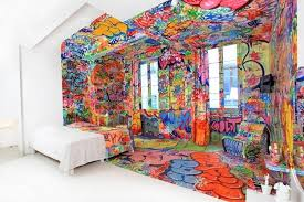 Creative Design Ideas And Crafts Personalizing Interior Decorating within Unique  Wall Painting Ideas
