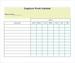 Printable Weekly Schedule Maker Work Schedule Maker Template Free Daily Word Weekly