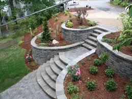 backyard retaining wall designs 17 best ideas about landscaping retaining walls on designs