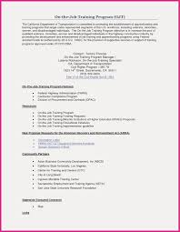 Ojt Certificate Sample For Hrm Fresh Awesome Application Letter For