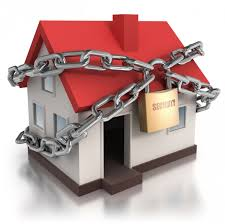 Image result for image of locked up house