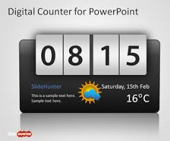 Countdown Clock For Powerpoint Presentation Free Countdown Powerpoint Templates