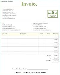 Simple Invoice Template Pdf – Publicassets.us
