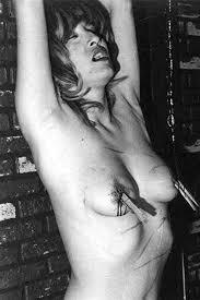 Vintage 60s 70s boobs nipples bondage