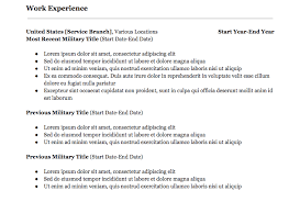 Military To Civilian Resume Magnificent Military To Civilian Resume How To Translate Your Service Experience