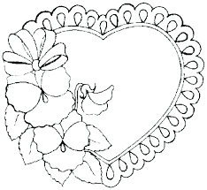 valentine hearts coloring pages.  Hearts Valentine Hearts Coloring Pages Page Of A  Heart Free Inside Valentine Hearts Coloring Pages