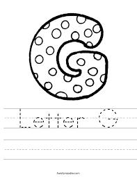 letter g 6 worksheet ctok=