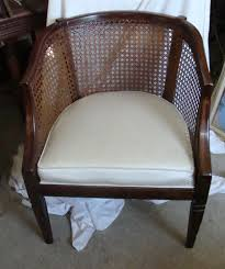 french cane chair. Barrel Cane Chair Hollywood Regency Mid-century Modern French Provincial N