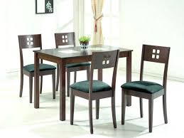 dining table modern glass top dining table set