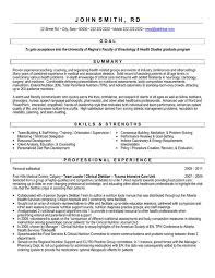 click here to download this graduate student resume template httpwww clinical dietitian resume