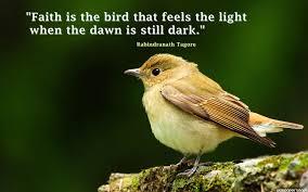 Faith Is The Bird Quotes Wallpaper 10590 Baltana