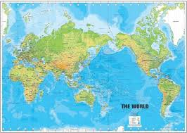 World Map Posters World Map Wall Posters Paper Print