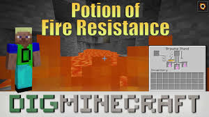 Minecraft Pe Potions Chart How To Make A Potion Of Fire Resistance 3 00 In Minecraft