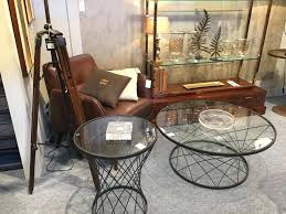 round glass top coffee table a glass top can be paired with various types of table