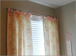 snazzy tension curtain rods home depot for window