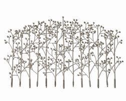 uttermost iron trees 05018 silver alternative wall decor