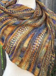 Shawl Knitting Patterns Delectable Free Knitting Pattern For One Skein Stormy Sky Shawl Perfect For