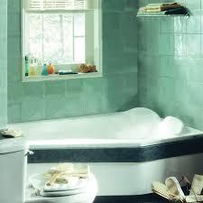 corner whirlpool drop in tub