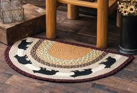 round entry rugs decoration impressive indoor half round entry rugs on rustic wood flooring between artificial round entry rugs
