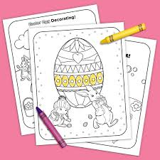 Nick Jr Printable Easter Coloring Pack Nickelodeon Parents